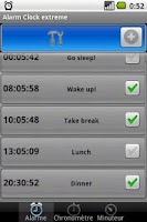 Screenshot of Alarm Clock Extreme