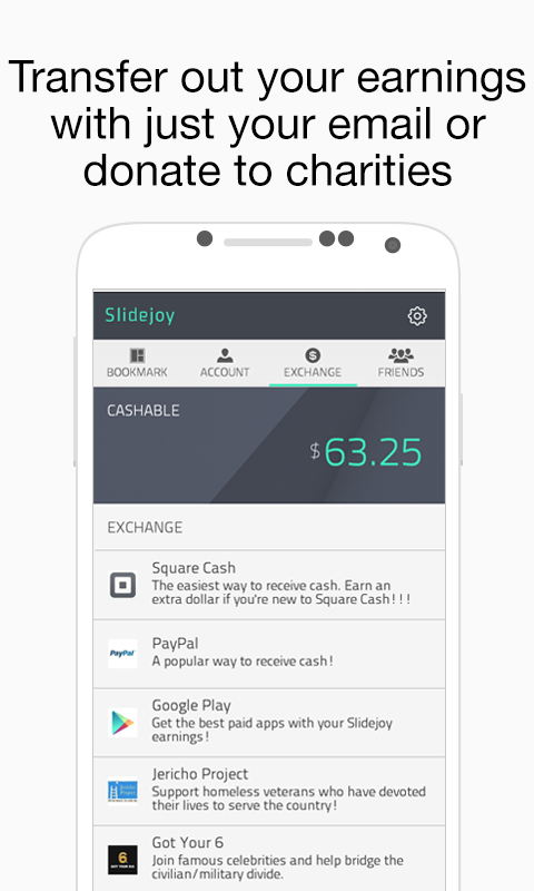 Slidejoy Lock Screen (Beta) - screenshot