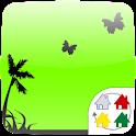 【無料】GreenTheme forきせかえランチャーPRO icon