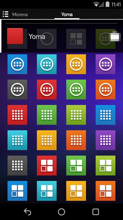 Yoma - Icon Pack- screenshot