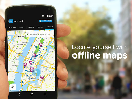 City Guides and Offline Maps