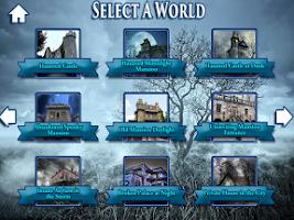 Screenshot of Hidden Objects Haunted Worlds
