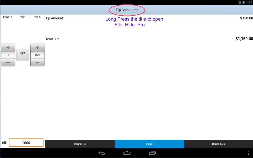 File Hide Pro - screenshot
