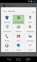 Screenshot of AE Money Manager