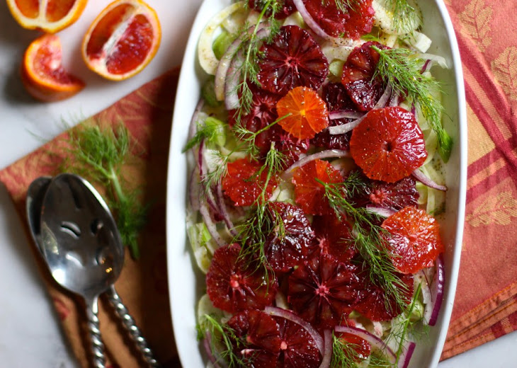 Blood Orange and Fennel Salad Recipe