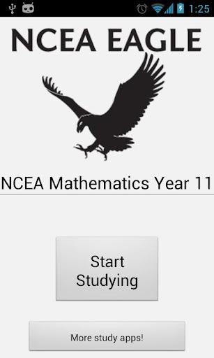 NCEA Mathematics Year 11