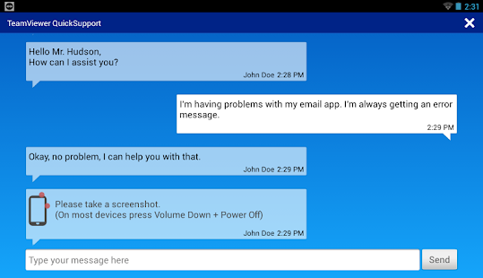 TeamViewer QuickSupport Screenshot 15