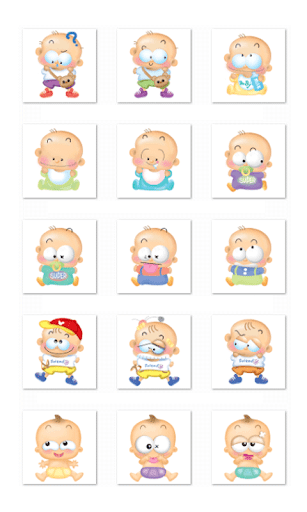Kids Chat Stickers-Facebook
