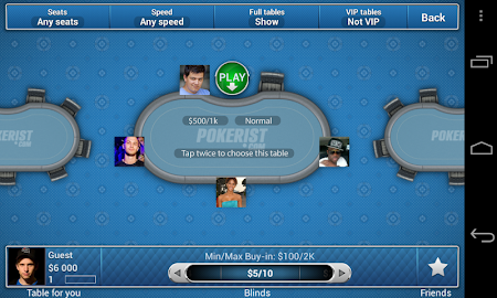 Pokerist for Tango 5.4.21 screenshot 1932