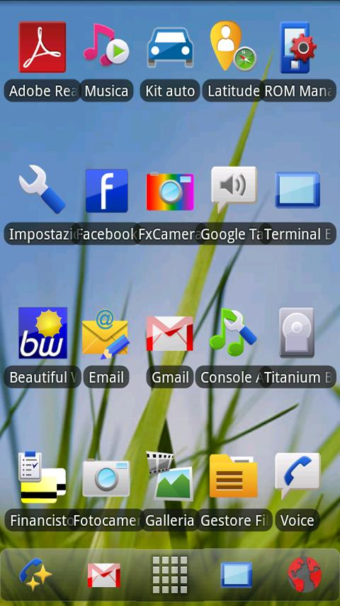 ADWTheme Symbian - screenshot