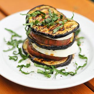 Eggplant Caprese.