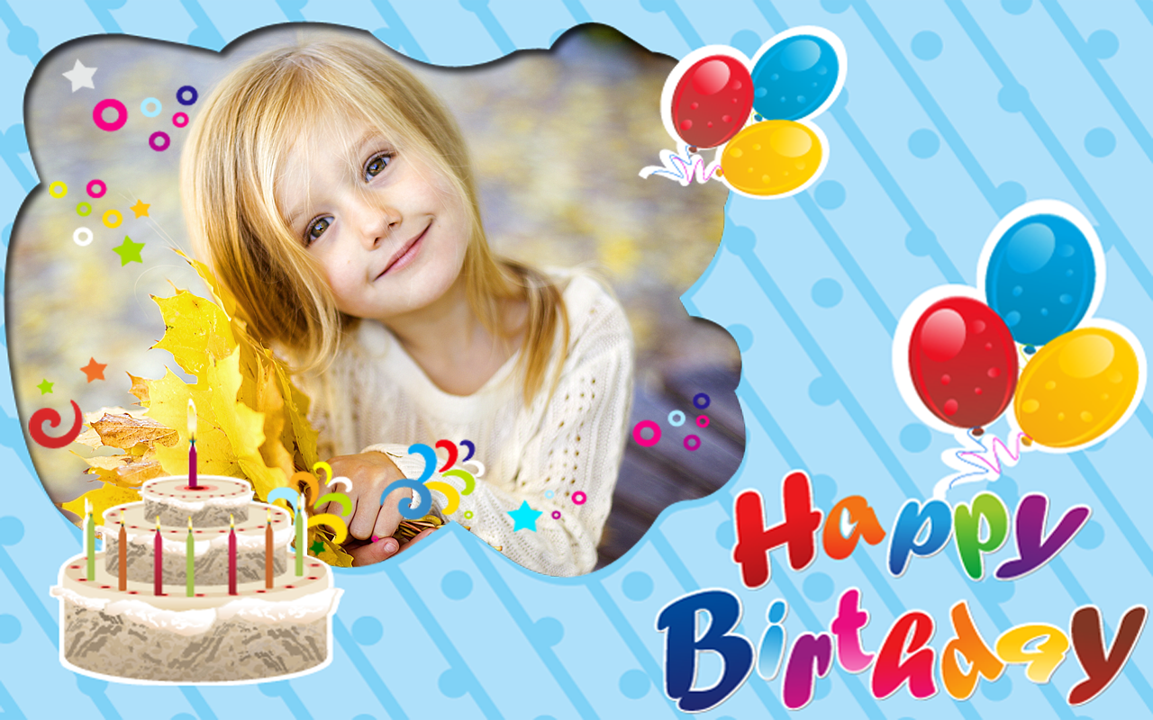 birthday photo frames android apps on google play
