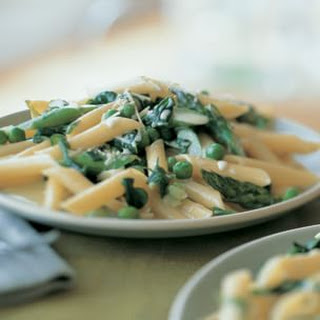 Penne with Spring Vegetables Recipe
