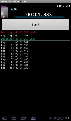 Mini4WD Lap Timer V2 byNSDev 1.2.3 Windows u7528 9