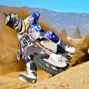 prime by Zachary Zygowicz - Sports & Fitness Motorsports ( roost, motocross, dirtbike, motorcycle, dirt )