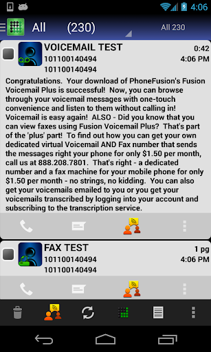 Visual Voicemail Plus