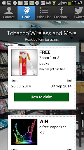 玩商業App|Tobacco Wireless and More免費|APP試玩