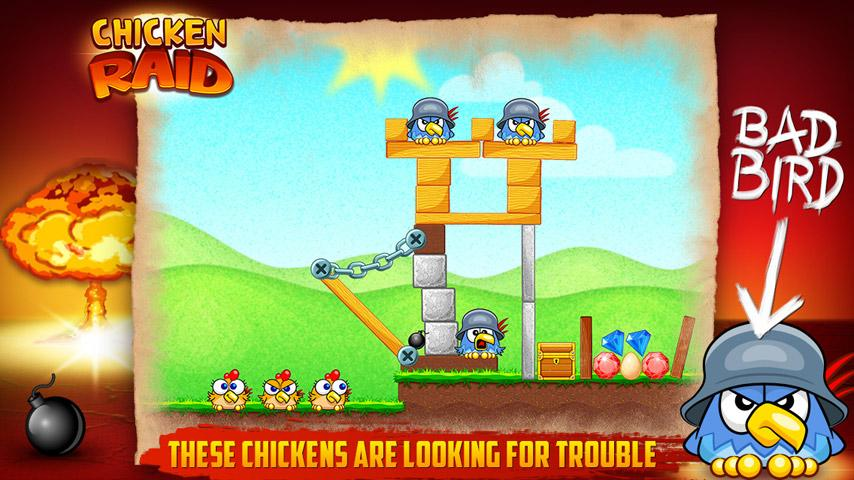 Chicken Raid FREE- screenshot