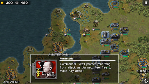 Glory of Generals 1.2.2 androidappsheaven.com 1