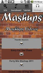 Mashups- screenshot thumbnail