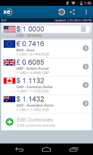 XE Currency Pro - screenshot thumbnail
