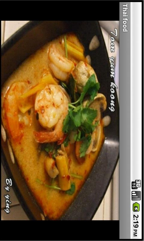 Thai Food Recipes - screenshot