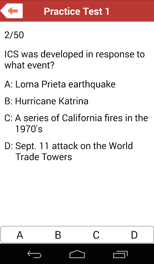 Write a news item about the incident command