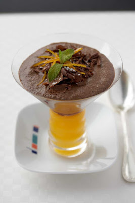 A silky smooth orange chocolate mousse is one of the perennial favorites at Celebrity Cruises's Bistro on Five.