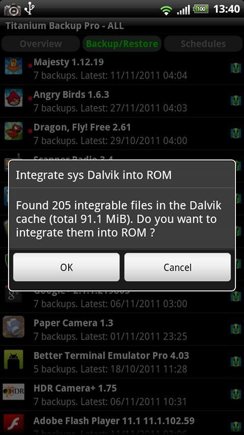 Titanium Backup PRO Key ★ root screenshot #6
