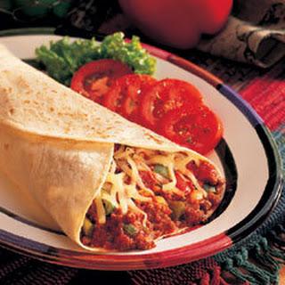 Italian Beef Burritos.