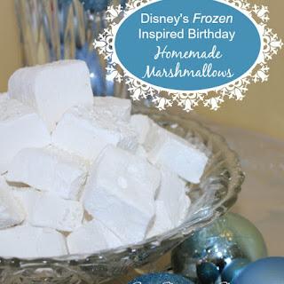 Disney Frozen Birthday – Homemade Marshmallows