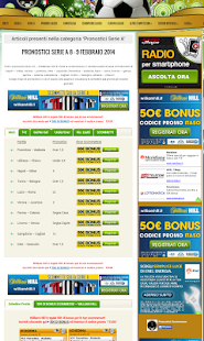 Pronostici Scommesse - screenshot thumbnail