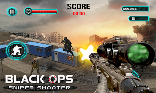 Black Ops Sniper Shooter