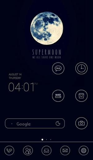 super moon dodol theme