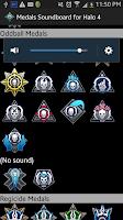 Screenshot of Medals Soundboard for Halo 4