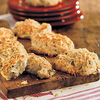 Parmesan-Basil Biscuits