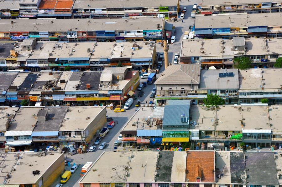 ROOFS by Baha mustafa BARAN - Buildings & Architecture Homes ( roof, building, d90, lanscape, nikon, city )