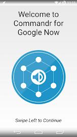 Commandr for Google Now Screenshot 1