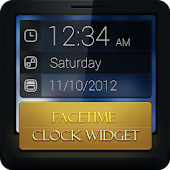 FaceTime Clock Widget
