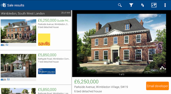 Rightmove Property Search - screenshot thumbnail