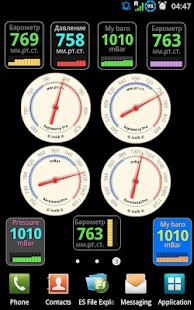 Barometer Pro screenshot for Android