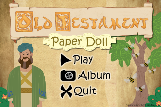 Old Testament Paper Doll