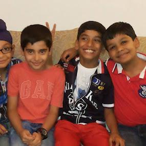 Siddhant's friends on his 9th b'day by Prashant Jog - Babies & Children Child Portraits