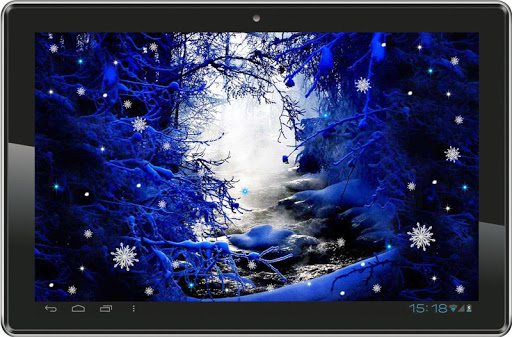 【免費個人化App】Winter Night live wallpaper-APP點子