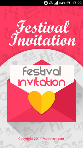 Festival Invitation Lite