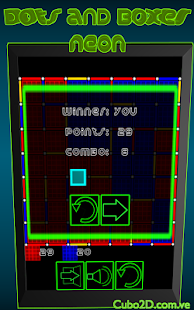 Dots and Boxes (Neon) - screenshot thumbnail