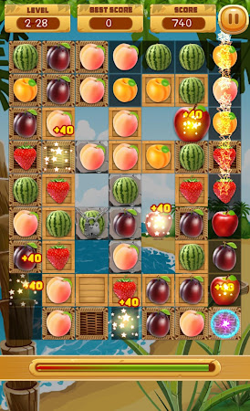 Fruit Crush - Match 3 games 1.2 screenshot 242240