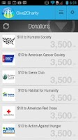 Screenshot of Give 2 Charity - Free Donation