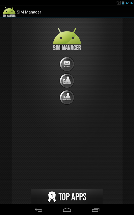 SIM Manager - screenshot
