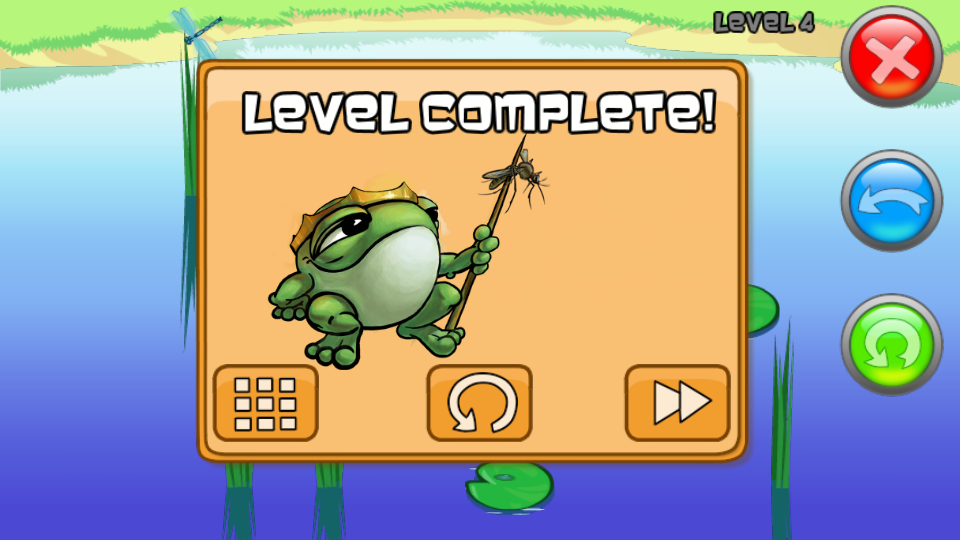 Froggy The King - screenshot